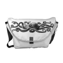 Octopus Courier Bag