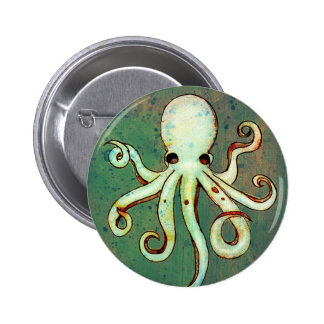 Octopus Cthulhu Pins