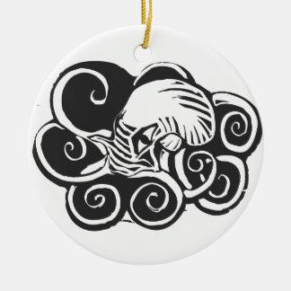 Octopus- Cthulu Ceramic Ornament
