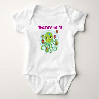 Octopus Customizable Birthday T-shirt