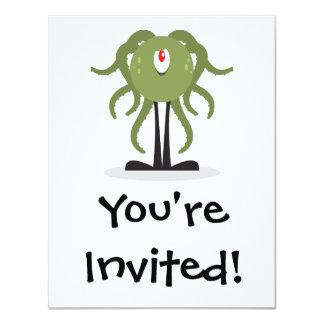 octopus cyclops monster invite