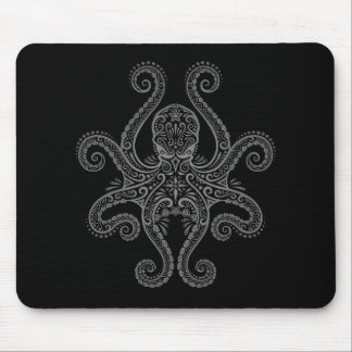 Octopus Design (black) Mouse Pad