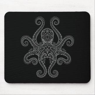 Octopus Design (black) Mouse Pad