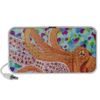 Octopus Doodle Speaker