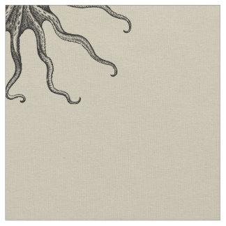 Octopus Fabric, Sandy Fabric