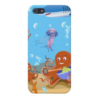 Octopus Family & Friends -  Cover For iPhone 5
