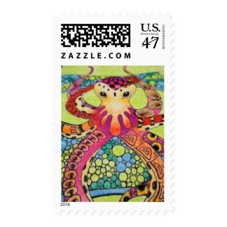 Octopus Firts Class Postage