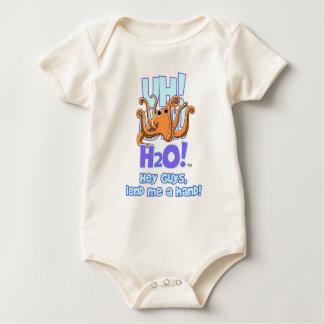 octopus front (Z) Baby Bodysuit