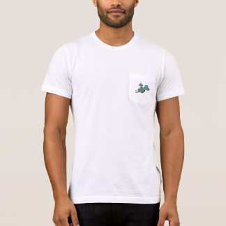 Octopus Grabbing Anchor Pocket tee