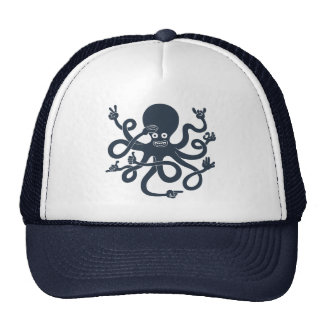 Octopus Hands Trucker Hat