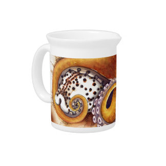 Octopus (He'e) Wrestling with Tiger Cowry Pitcher