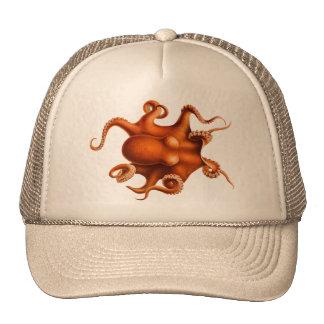 Octopus Illustration Trucker Hat