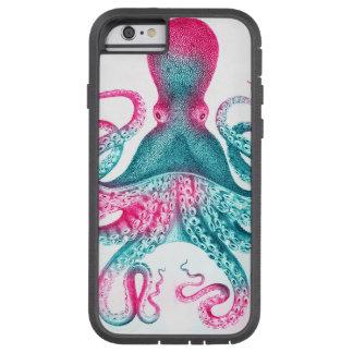 Octopus illustration - vintage - kraken tough xtreme iPhone 6 case