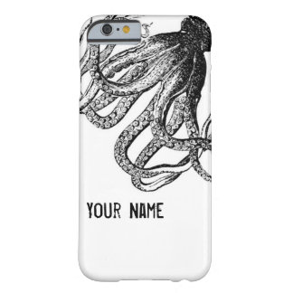 Octopus in Black and White Barely There iPhone 6 Case