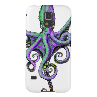 OCTOPUS IN BLOOM GALAXY S5 COVER
