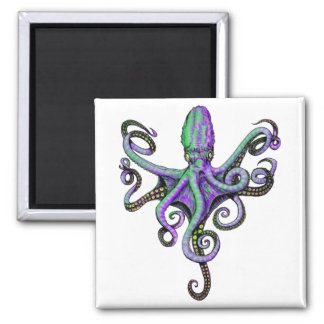 OCTOPUS IN BLOOM MAGNET