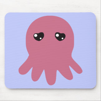 Octopus in Love Mouse Pad