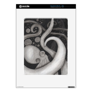 octopus in the deep decal for iPad
