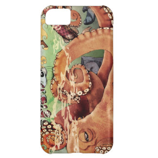Octopus iPhone Case Cover For iPhone 5C