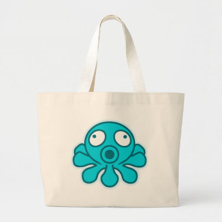 Octopus - Japanese anime style Tote Bags