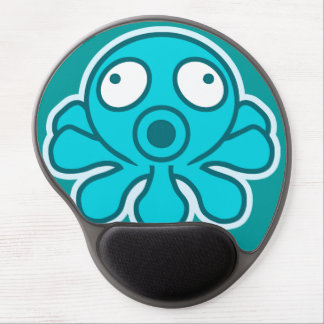 Octopus - Japanese anime style Gel Mouse Pad