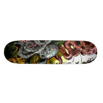 octopus jungle skateboard