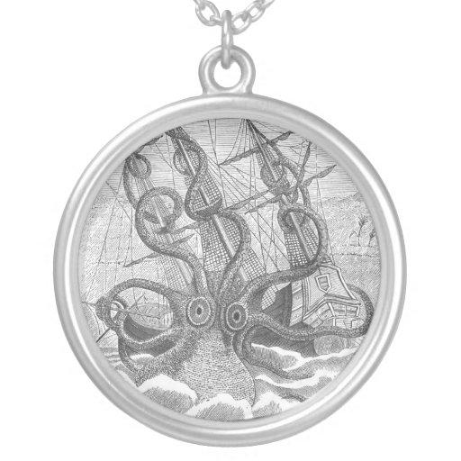 """Octopus """"Kraken"""" Necklace"""