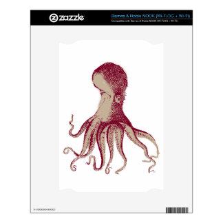 Octopus Kraken Squid Skin For The NOOK