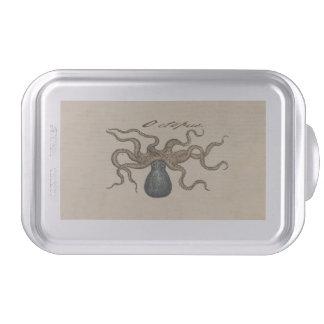 Octopus Kraken vintage scientific illustration Cake Pan