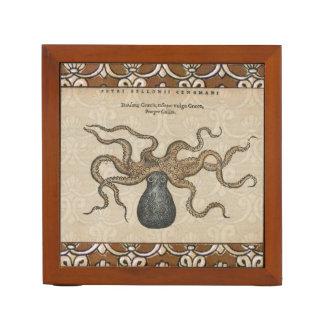 Octopus Kraken vintage scientific illustration Pencil Holder
