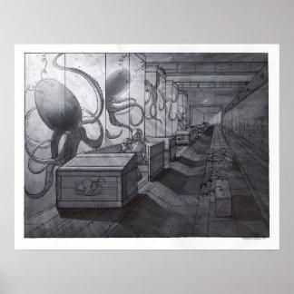 Octopus Lab Ride Print