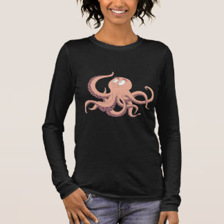 Octopus Ladies Longsleeve Long Sleeve T-Shirt
