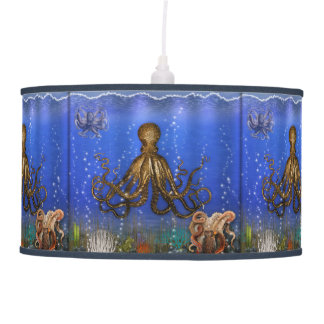 Octopus' Lair - Colorful Ceiling Lamp