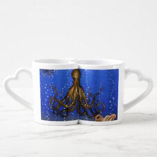 Octopus' Lair - Colorful Coffee Mug Set