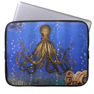 Octopus' Lair - Colorful Computer Sleeve