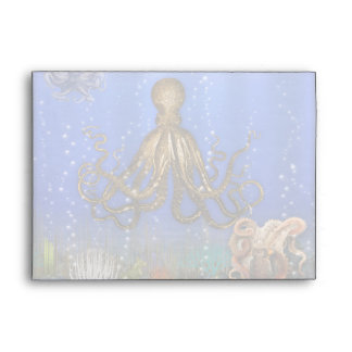 Octopus' Lair - Colorful Envelope