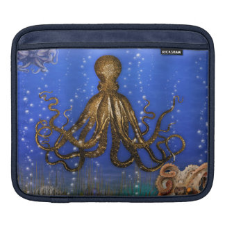 Octopus' Lair - Colorful iPad Sleeve