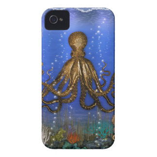 Octopus' Lair - Colorful iPhone 4 Cover
