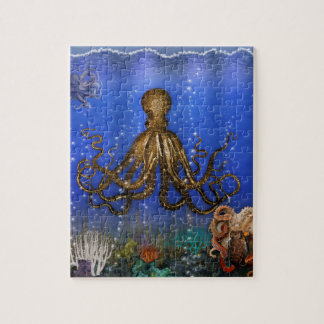 Octopus' Lair - Colorful Jigsaw Puzzle