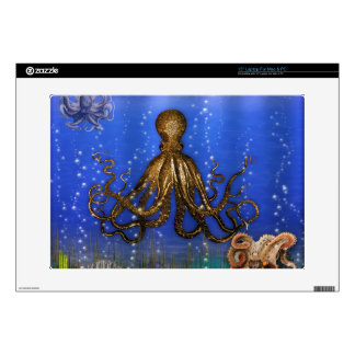 Octopus' Lair - Colorful Laptop Decal