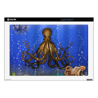 Octopus' Lair - Colorful Laptop Decals