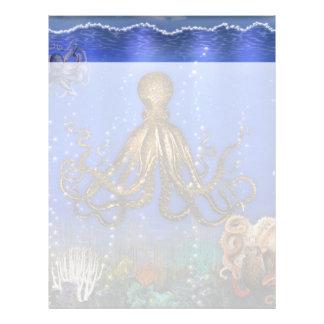 Octopus' Lair - Colorful Letterhead