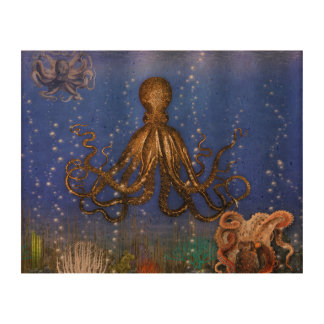 Octopus Lair - Colorful Cork Fabric