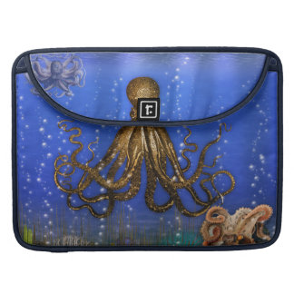 Octopus' Lair - Colorful Sleeve For MacBooks