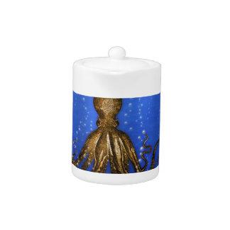 Octopus' Lair - Colorful Teapot