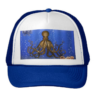 Octopus' Lair - Colorful Trucker Hat