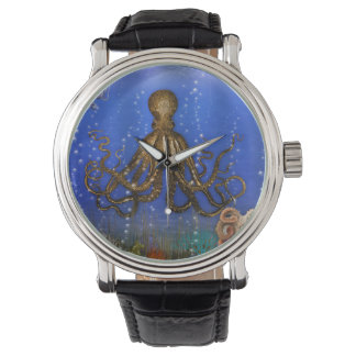 Octopus' Lair - Colorful Wristwatch