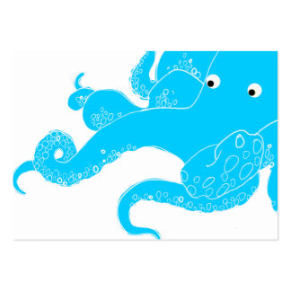 Octopus Large Business Card