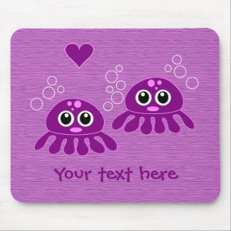 Octopus Love custom mousepad