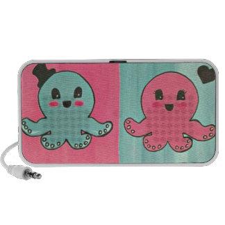 Octopus Love doodle speaker